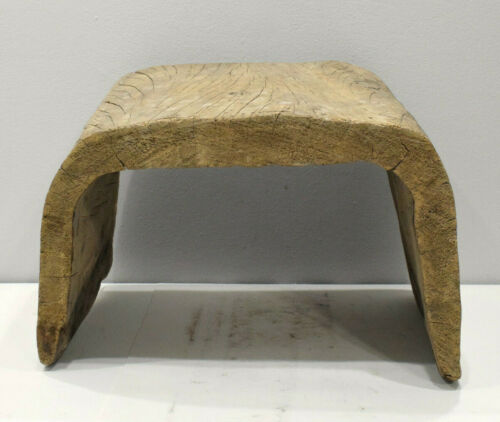 Papua New Guinea Wood Canoe Stool or Seat