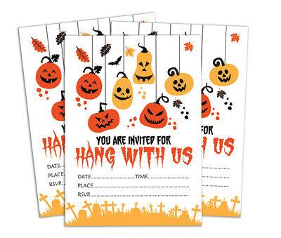 elegante füllen oder schreiben inparty 28stücke ein-DS-IN19A (Druckbare Halloween)
