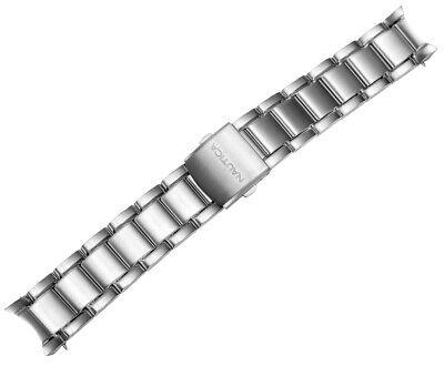 Nautica Mens A22550G   N22550G NCT400 Chrono Stainless Steel 22mm Watch Bracelet Nautica Mens Bracelets