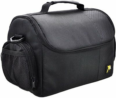 DSLR Large Padded Case/Bag for Cameras Camcorders for Sony Nikon Canon
