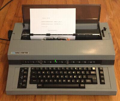 Swintec 1146cm Typewriter In Excellent Condition