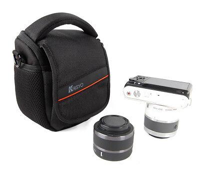 Camera Shoulder Waist Case Bag For SONY Cyber-Shot DSC ILCE-QX1/ILCE-QX1L