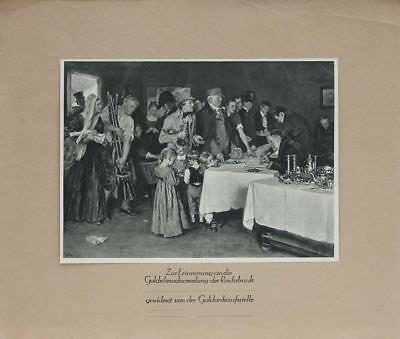 Zur Erinnerung an die Goldschmucksammlung der Reichsbank - 1.Weltkrieg