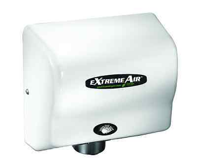 American Dryer GXT9 eXtremeAir Auto White Hand Dryer Adjustable Speed/Sound