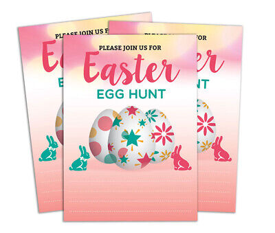 Ostern Druckbare füllen oder schreiben Party Supplies Pack von 28 - DS-IN347A
