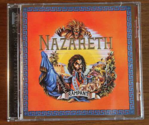 Rampant Von Nazareth / Germany  Authentic Audio Cd With Booklet