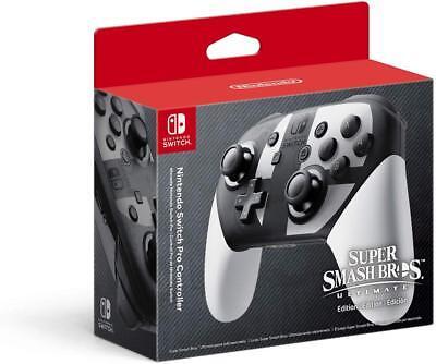 Nintendo Super Smash Bros. Ultimate Edition Pro Controller - Switch New