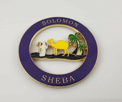 """Shriner Sword Symbol Cut-Out Car Emblem Silver - 2.375/"""""""