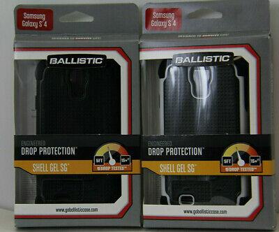 Ballistic Shell Gel SG Case for the Samsung Galaxy S4 Sg Shell Gel