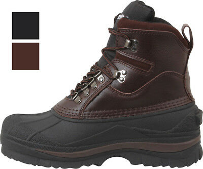 Insulated Thermal Winter Boots - Mens Thermal Insulated Cold Weather Waterproof Boots 8