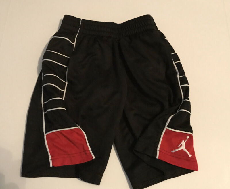 Authentic Nike Air Jordan Brand Youth Dri-Fit Basketball Shorts 8-10