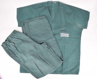 Ohio Uniform -  Ohio State Penitentiary Green Prison Uniform Shirt and Pants Inmate Mens