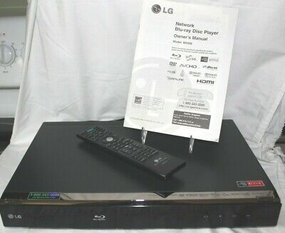 LG Network Blue-ray Disc Player Model BD300 with Remote & Manual