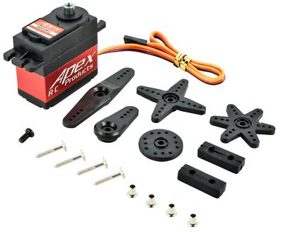 6600mg metal gear case digital standard servo