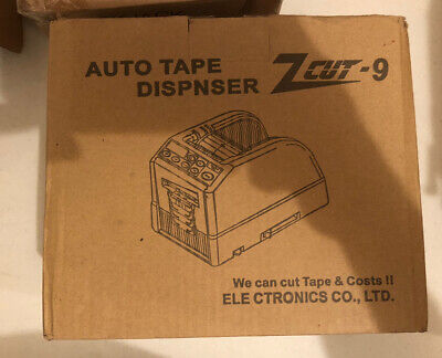Zcut-9 Electric Automatic Tape Dispenser Cutter Packaging Machine 220v