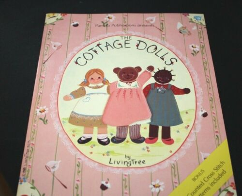 Cottage Dolls Tole Painting Book Pattern Instructions Holiday -CCCC )