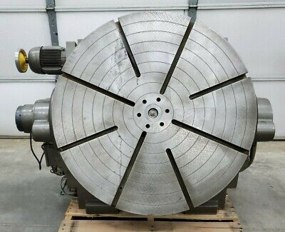 Eimeldingen Precision Powered Rotary Tilt Table 39 Diameter 460v