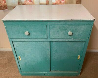 Vintage Kitchen Cabinet Unit Larder Pantry Cupboard Retro