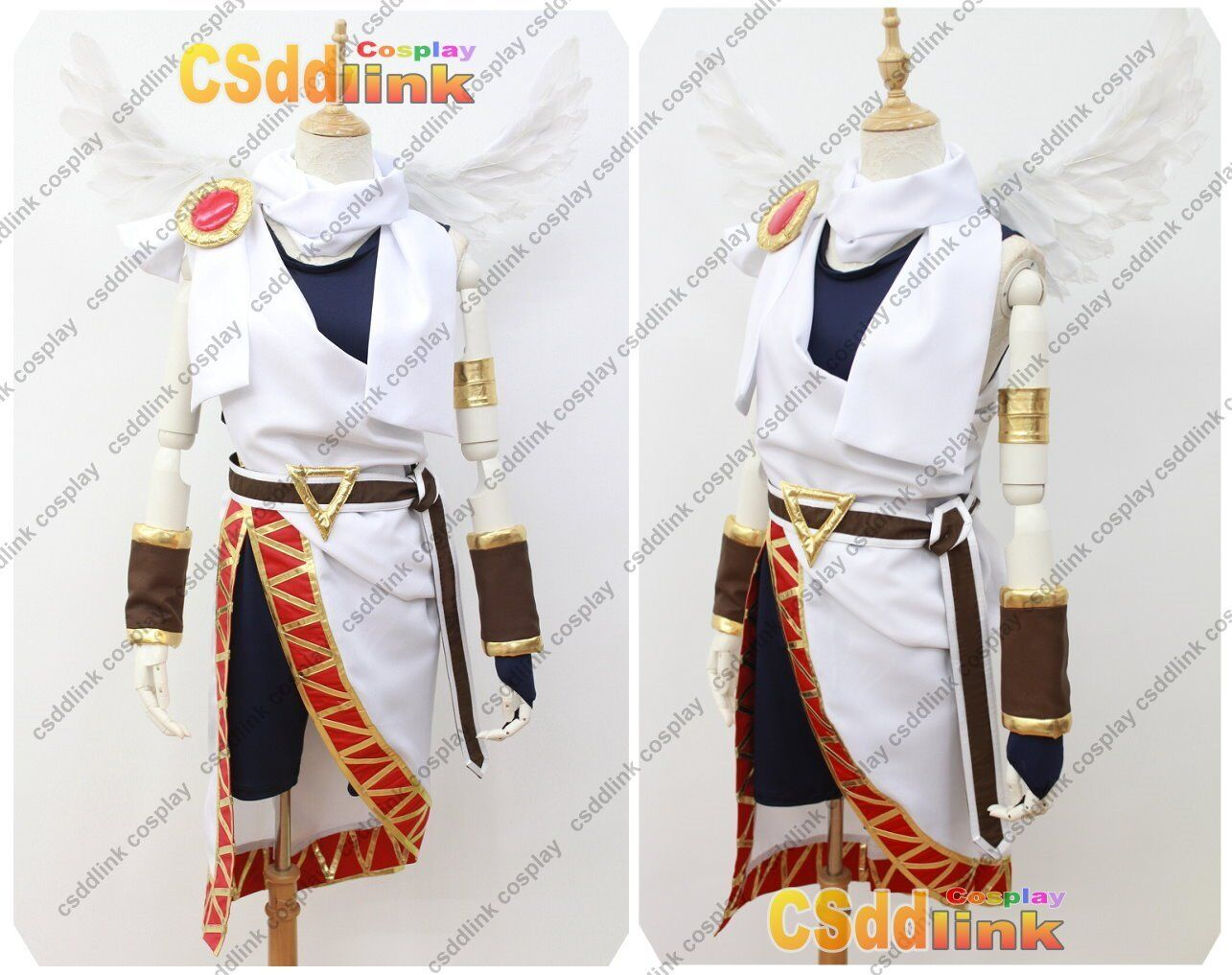 Kid Icarus Pit Uprising Cosplay Costume No Wing