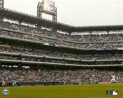 Philadelphia Phillies 8X10  1St Pitch Photo  Citizens Bank Park Baseball Stadium