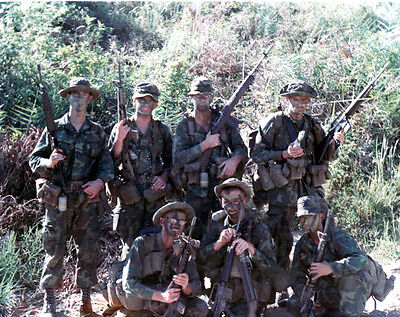 Vietnam War U.S. Army Rangers Long Range Recon Patrol Mai Loc 1969 8.5x11 Photo
