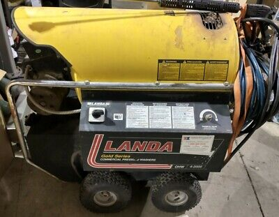 Landa Ohw4-20021a Commercial Electricdiesel 2000psi Pressure Washer Usa