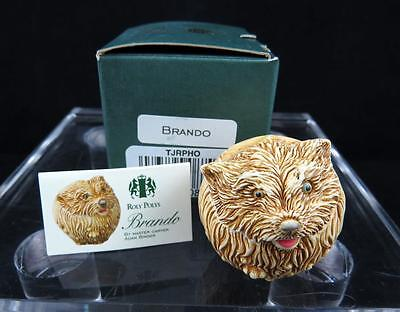 ENGLAND BRANDO hund 4.1cm Figur mit original Verpackung 2000 (Königreich Hunde)