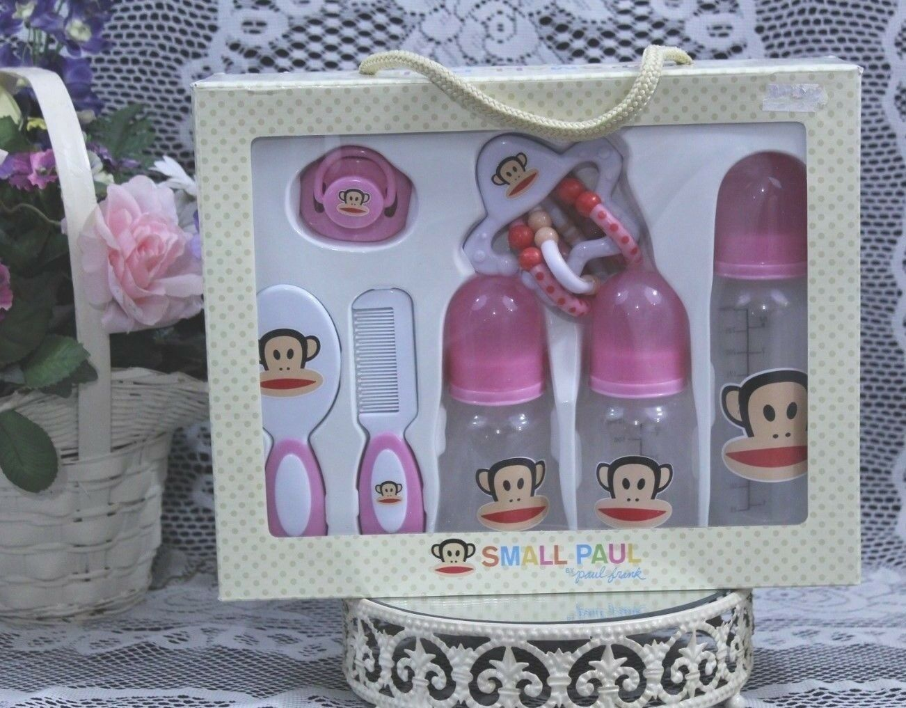 Small Paul by Paul Frank Infant Care Gift Set