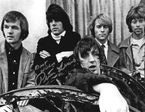 * PETER LEWIS * signed 8x10 photo * MOBY GRAPE * COA * 2