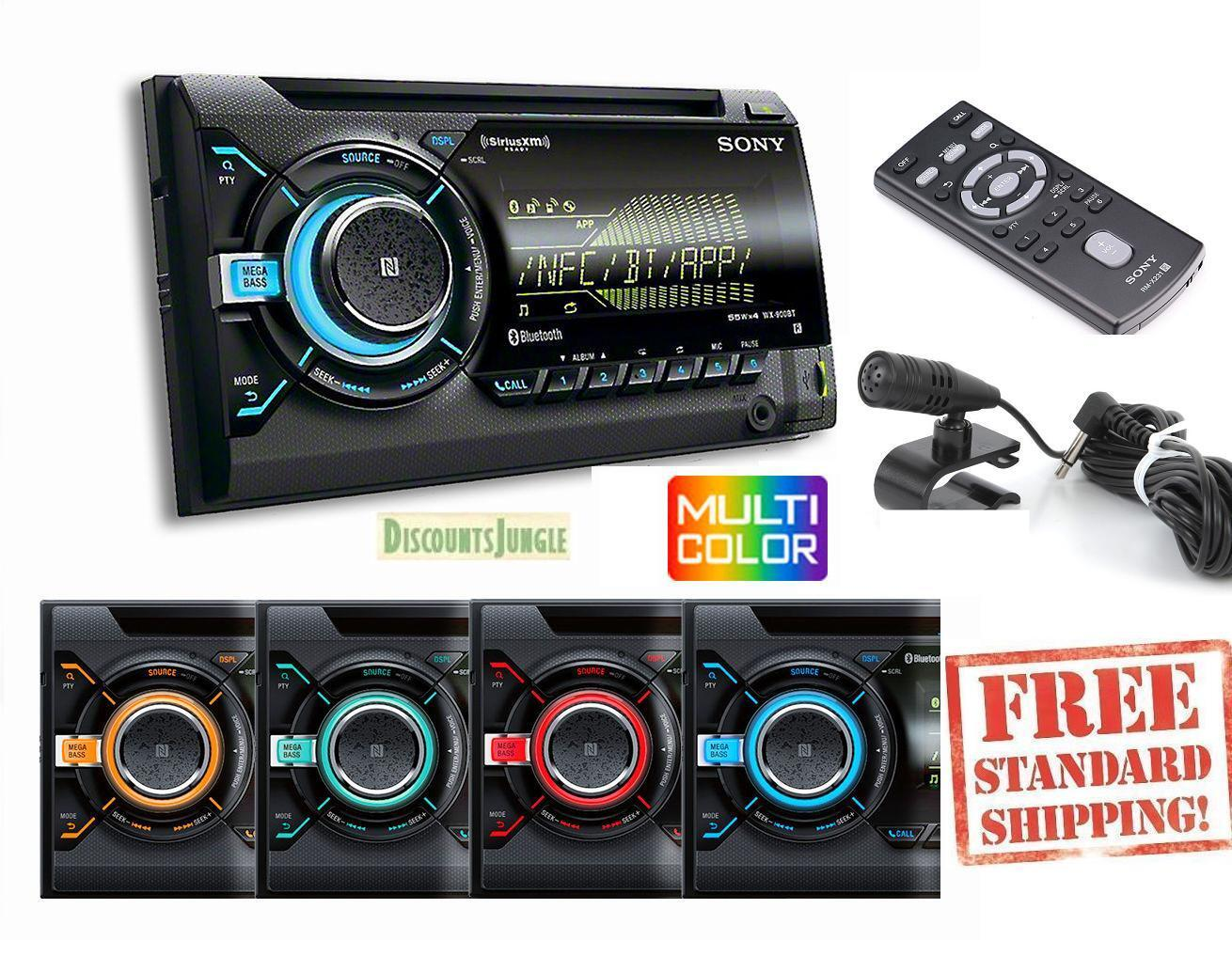 $99.90 - Sony WX900BT Double Din CD Player Car Radio Bluetooth Pandora Iphone USB AUX