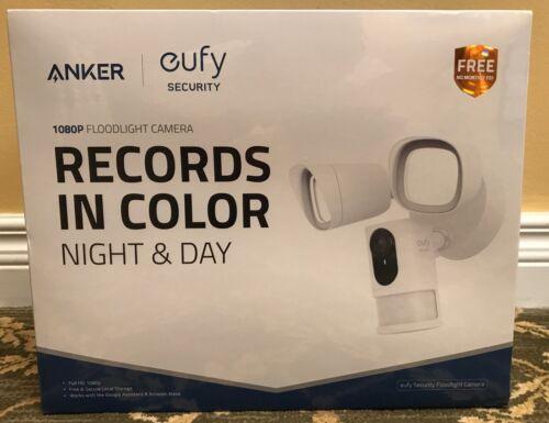 Eufy Security 1080p Floodlight Camera Surveillance Flood Cam