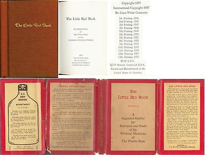 The Little Red Book 1959 Dj 12 Steps Alcoholics Anonymous Aa
