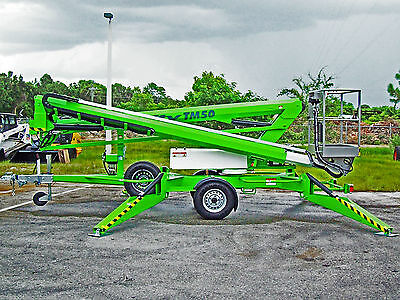 Nifty Tm50 Towable Lift56 Height2021 Gas Poweredall Hydraulicno Computer