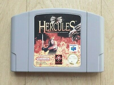 Hercules The Legendary Journeys - Nintendo 64 N64 - Cartouche Seule - PAL - BE