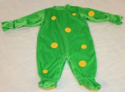 Frog Costume (Infant Toddler Size 6-9 Month Halloween Costume Frog Green One Piece)
