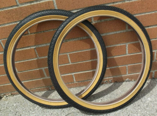 Kenda K55 street Freestyle tires Pair old Panaracer tread fits GT Hutch Kuwahara