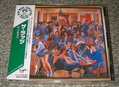 THE RUTS Japan PROMO sealed CD obi  THE CRACK new wave PUNK REGGAE 15 track 1991