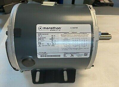Marathon 12hp Motor 5k42hn4128 1725rpm 208-230460v Frame 56 Nos