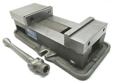 Kurt Anglock 6 Milling Machine Vise W Jaws Handle - D675