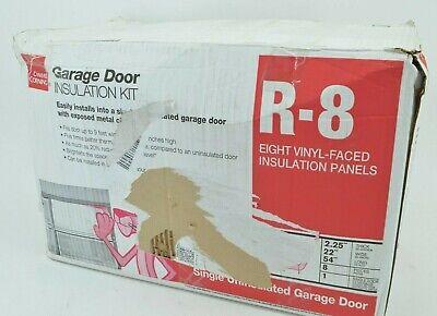 Owens Corning 500824 Garage Door Fiberglass Insulation Kit 22 X 54 8 Panels