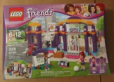 Lego 41312 FRIENDS HEARTLAKE SPORTS CENTER ~ 328 Pieces ~ NIP