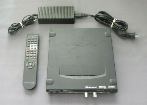 Creative Sound Blaster Extigy External Sound Card for PC 24 Bit w Remote Control