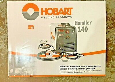Hobart 500559 Handler 140 Mig Wire Mig Welder New In The Box Free Shipping