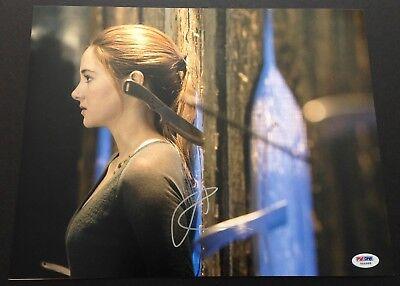 Shailene Woodley Signed 11X14 Photo Psa Dna Coa Autograph Divergent Tris