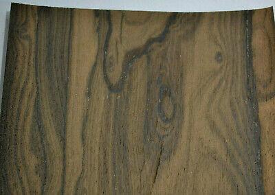 Ziricote Raw Wood Veneer Sheets 7.5 X 45 Inches 142nd   G7633-35