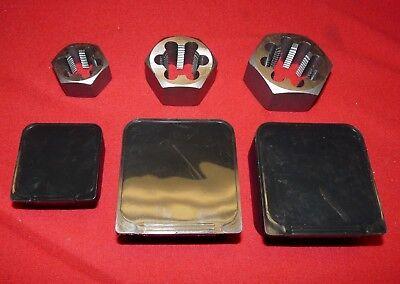 Pipe Die Set 3 PC Hex 1/2 , 3/4, 1