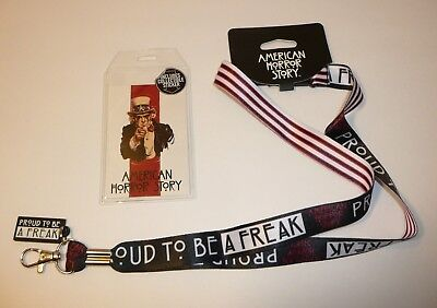 American Horror Story Neck Lanyard Halloween TV Show Proud To Be A Freak Show