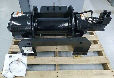 New Dp Manufacturing Hydraulic Cable Winch 35000 Lb. 53199-001