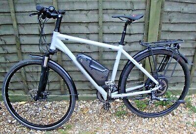 kalkhoff pro connect hybrid E bike gents medium with Shimano groupset