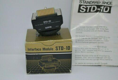 Old Stock! Sunpak STD-1D STANDARD MODULE FOR SUNPAK *MINT*